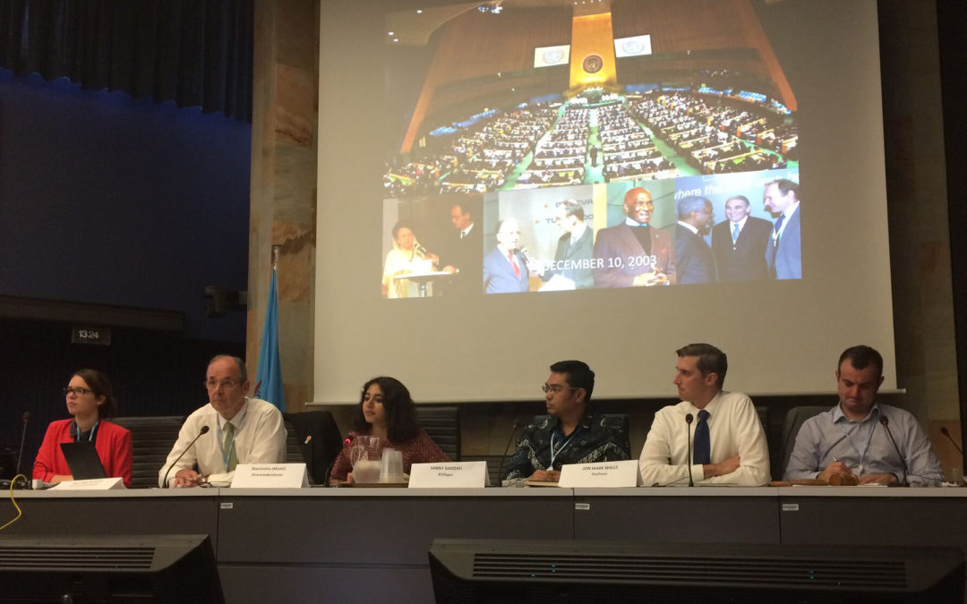 Narrowing the Content Gap: Peter A. Bruck at WSIS Forum 2017 in Geneva